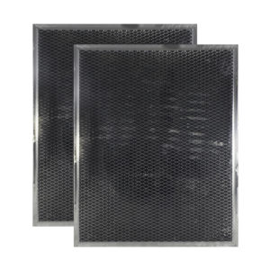 2 Pack Charcoal Carbon Range Hood Filters