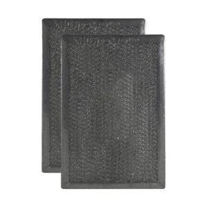 (2 Filters) Aluminum Mesh Grease Microwave Oven Filter Replacements