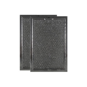 2 Pack Aluminum Mesh Grease Microwave Oven Filters