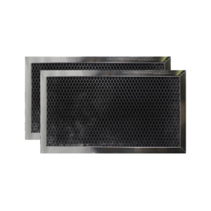 (2 Filters) Charcoal Carbon Microwave Oven Range Hood Filters