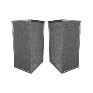 2 Pack Aluminum Mesh Grease Range Hood Filters