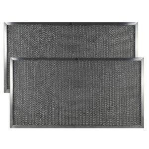 (2 Pack) Aluminum Mesh Grease Range Hood Filters