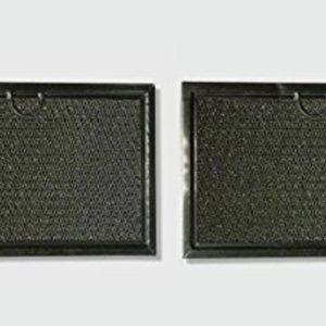2 Pack Aluminum Mesh Grease Microwave Filters