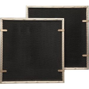 (2 Pack) Charcoal Carbon Range Hood Filters With Spring Clips