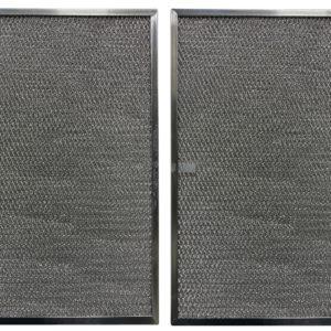 (2 Pack) Aluminum Grease Range Hood Filters
